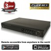 (IPS-4NVRP4) 4 Channel IP NVR with 4 Port PoE Switch 3rd Party Support Up to 5 Mega Pixel Recording HDMI 1080P Output FULL HD