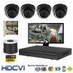 "(IPS-104LPCW) ""Premier Compact 1080"" 4 Security Camera System package with 4 1080P Vandal Dome Indoor & Outdoor IR Camera Up to 80FT"