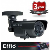 """(IPS-CEFFIOV65C) """"CANNON-V"""" 1/3"""" Sony Effio-V IR 750TVL 960H Bullet w/ 2.8-12MM Lens, 2pc 3G IR, INDOOR & OUTDOOR 150FT in complete darkness and OSD"""
