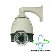 """(IPS-L50X27IR) 1/4"""" Sony CCD 540TVL Day / 620TVL Night Vision up to 280FT 27X optical zoom controllable Pan Tilt Zoom camera, Indoor & Outdoor"""