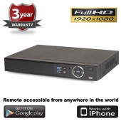 (IPS-4CVIDVR) 4 Channel Standalone CVI DVR Remote & Mobile View compatible