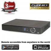 (IPS-4CVIDVR) 4 Channel Standalone CVI DVR Remote & Mobile View compatible