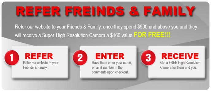Refer Friends & Family