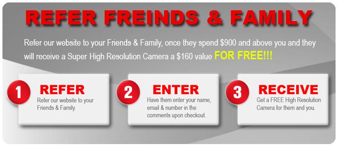 Refer Friends & Family