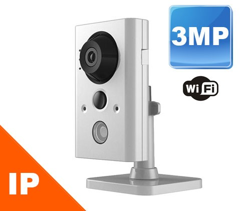 (IPS-WIRELESS32) 3 Mega Pixel Wireless IP Camera remote viewable iPhone, android, smart phones and PC with built in Recording capabilities