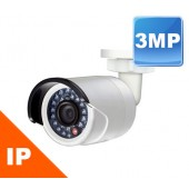 "(IPS-LIPB832WB) ""MEGA MINI3"" 3 MegaPixel high resolution, HD video output, Low illumination, INDOOR & OUTDOOR, IP66 rating, IR up to 90ft, True day / night"