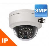 (IPS-2CD2132F-IWS) 3MP IR Mini Dome Wireless Camera Indoor & Outdoor 100FT in TOTAL DARKNESS