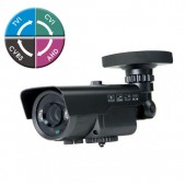 "(IPS-205BV65) 2 Mega Pixel HD 1080P 1/3""Sensor, 2.8-12mm Lens, 2HP IR & DC12V TVI, CVI, AHD, Analog Technology"