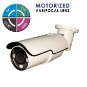"(IPS-206B58W) ""X-FORCE-SM"" 1080P IR BULLET w/ 2.8-12mm MOTORIZED LENS, 3PCS 3G IR & DC12V TVI, CVI, AHD & Analog Technology"