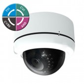 "(IPS-205DW19) 4 in 1 2 Mega Pixel HD Vandal Dome 1080P 1/3""Sensor, 2.8-12mm Lens, 36IR & DC12V TVI, CVI, AHD, Analog Technology"