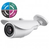 "(IPS-205VB) ""X-FORCE-S"" 4 in 1 1080P IR BULLET w/ 2.8-12mm Lens 36IR LED 12V TVI, CVI, AHD, Analog Technology"