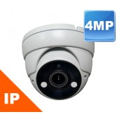 (IPS-420DWM) 4MP IR Eyeball Dome Camera Indoor & Outdoor 2.8 to 12mm MOTORIZED Lens 120FT in TOTAL DARKNESS