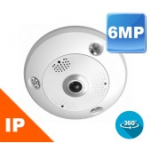 (IPS-2CD6362F-IS) 6MP FISHEYE Dome Camera Indoor & Outdoor 1.27 mm Lens
