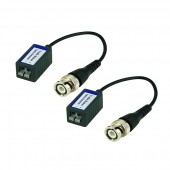 (IPS-LBALUN) Pair of CAT5e or CAT6 Video Balun