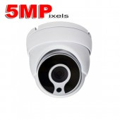 (IPS-502DW30) 5MP HD-TVI IR Eyeball w/ 2.8mm Lens, 3PC Black Film IR Led & DC12V Camera