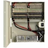 (IPS-L12VDC18P) 12V DC 18 port power distribution box 18 Amp single outlet