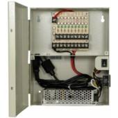 (IPS-L12VDC9P) 12V DC 9 port power distribution box 10 Amp single outlet